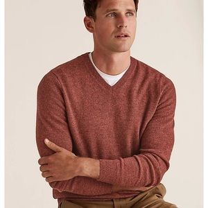 J. Crew Wool Sweater Mens V-neck Sweater